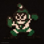 Bossen BUBBLEMAN från Megaman II.