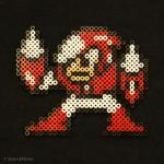 Bossen CRASHMAN från Megaman II.